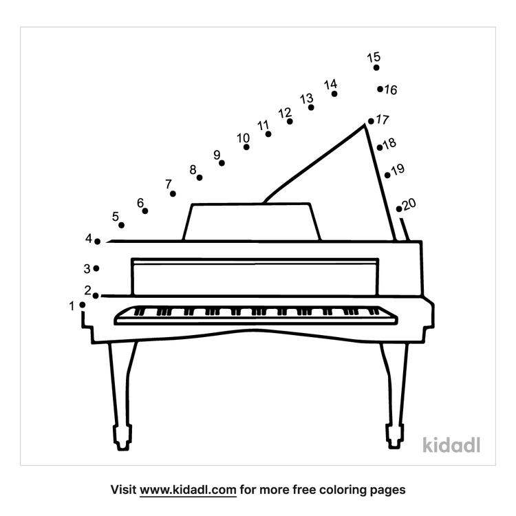 easy-piano-dot-to-dot