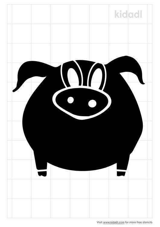 easy-pig-stencil