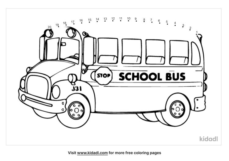 easy-school-bus-dot-to-dot