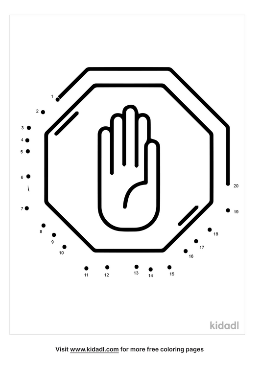 easy-stop-sign-dot-to-dot