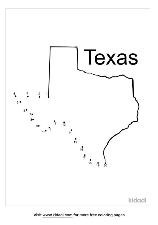 easy-texas-dot-to-dot