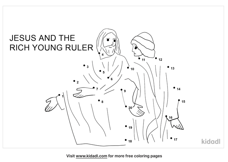 easy-the-rich-young-ruler-dot-to-dot