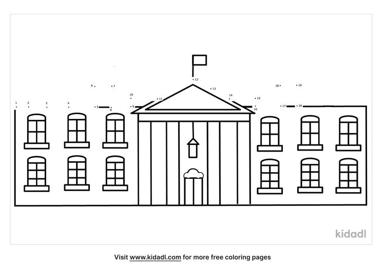 easy-white-house-dot-to-dot