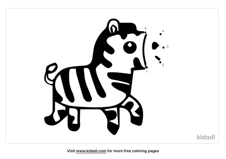 easy-zebra-dot-to-dot