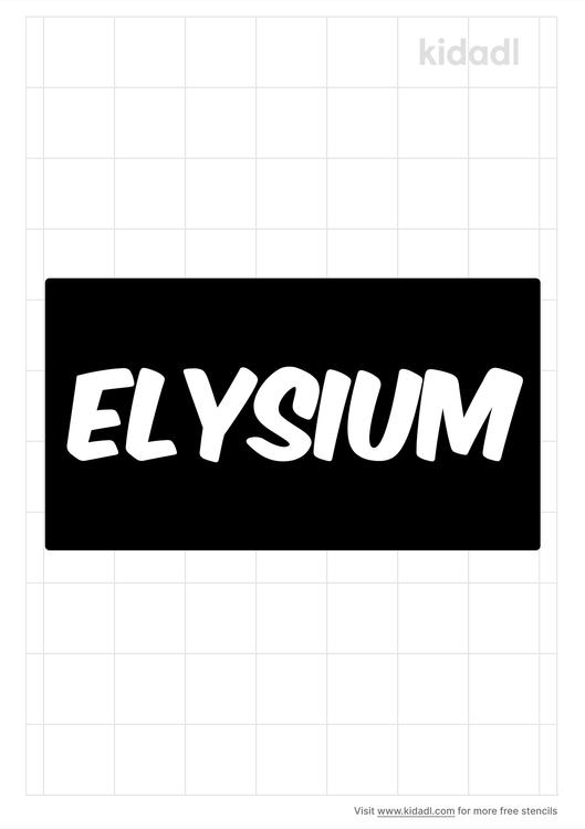 elysium-stencil