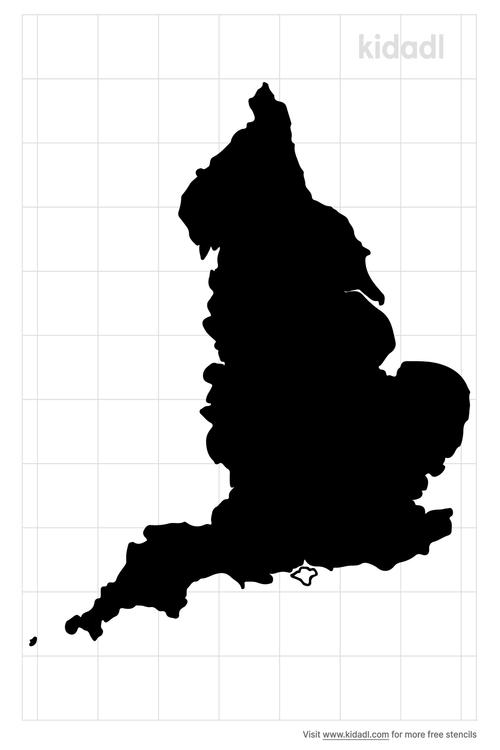 england-map-stencil