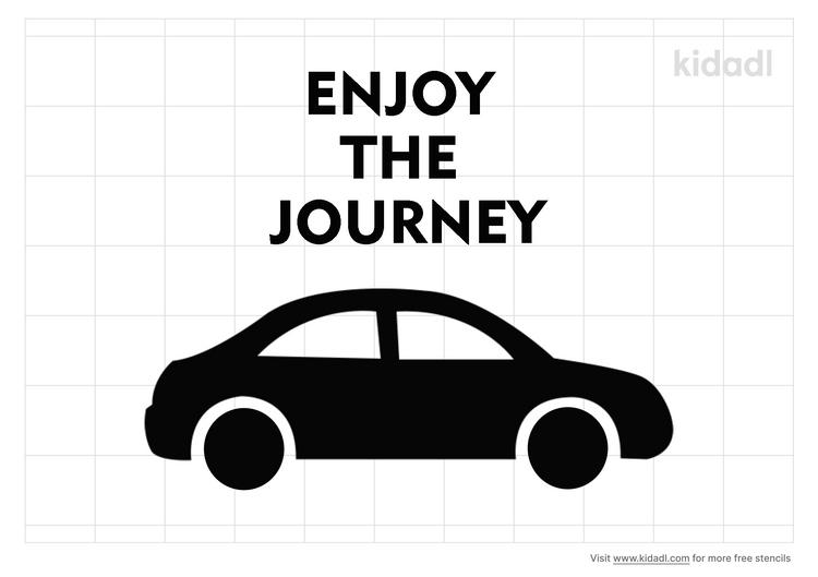 enjoy-the-journey-stencil