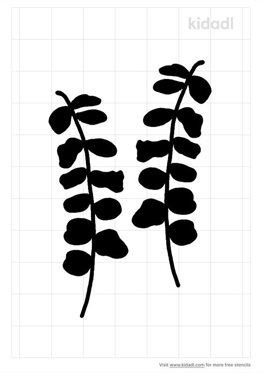 eucalyptus-stencil