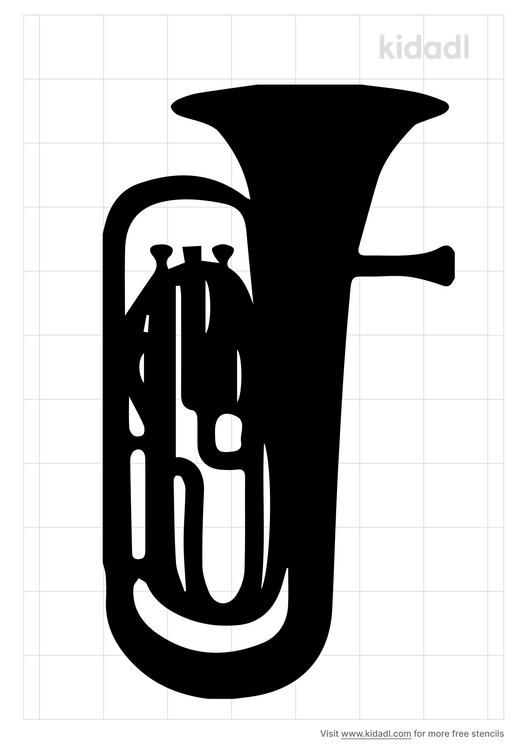 euphonium-stencil