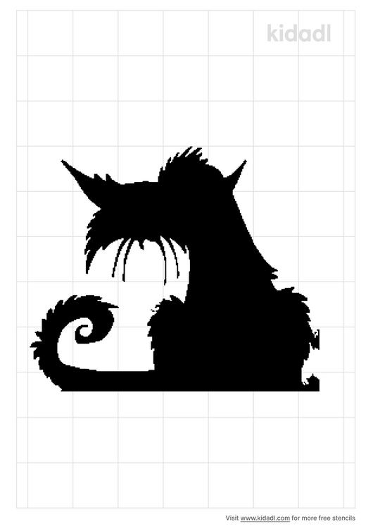 evil-cat-stencil