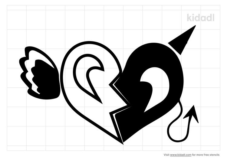 evil-love-stencil