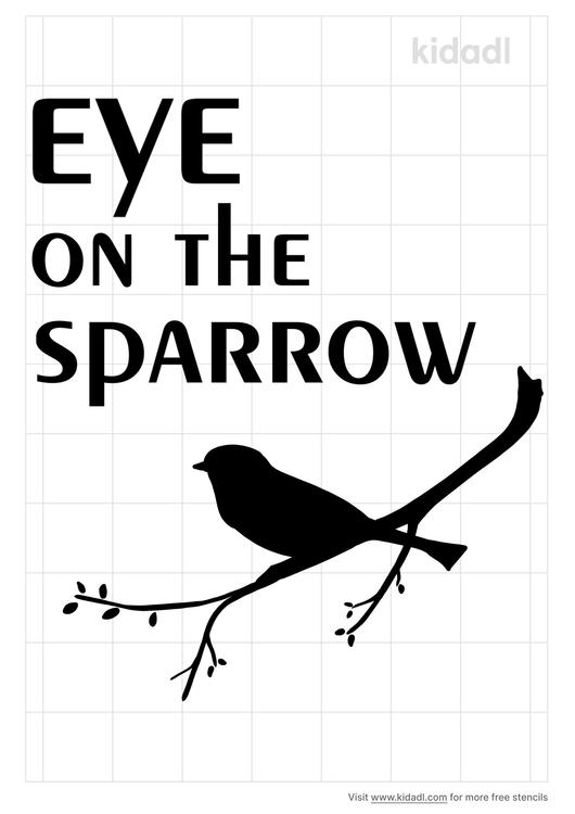 eye-on-the-sparrow-stencil
