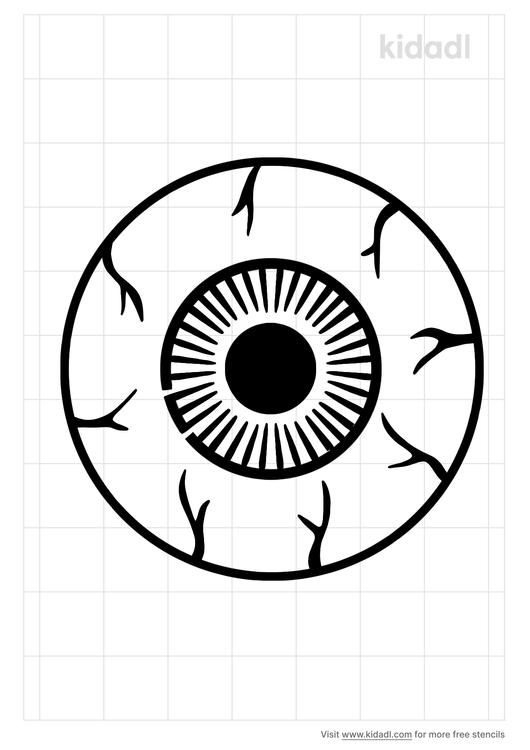 eyeball-stencil