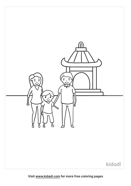 family-at-temple-coloring-page.png