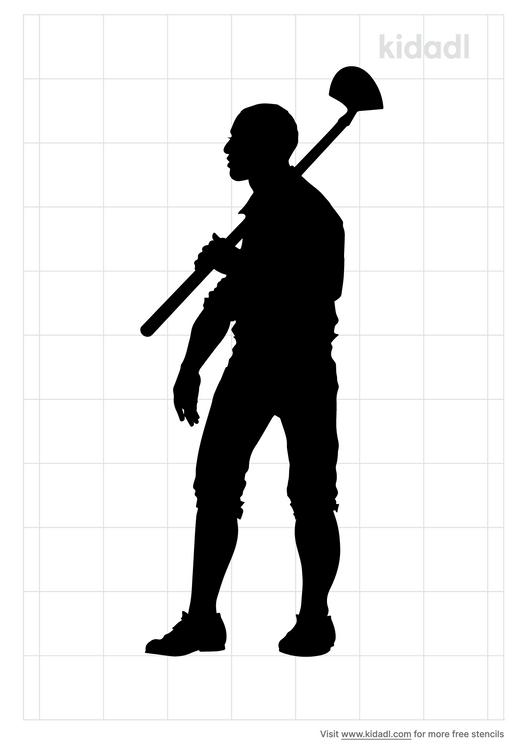 farmer-stencil