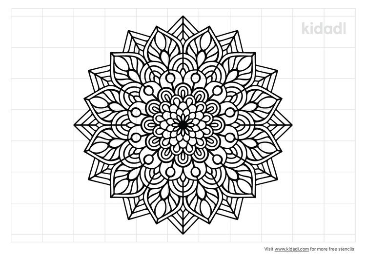 floral-madala-stencil