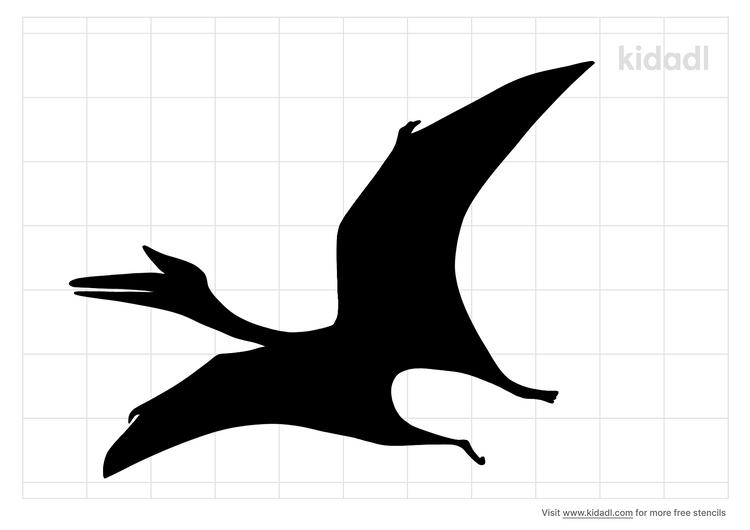 flying-dinosaur-stencil
