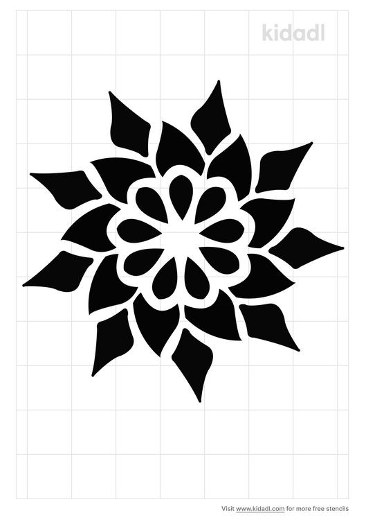 folk-art-mandala-stencil