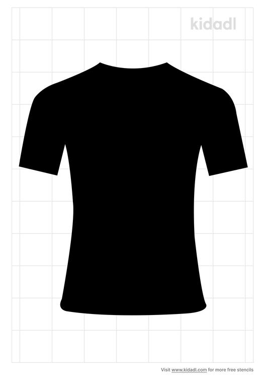 football-jersey-stencil