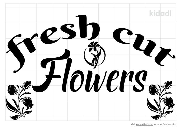 fresh-cut-flower-stencil