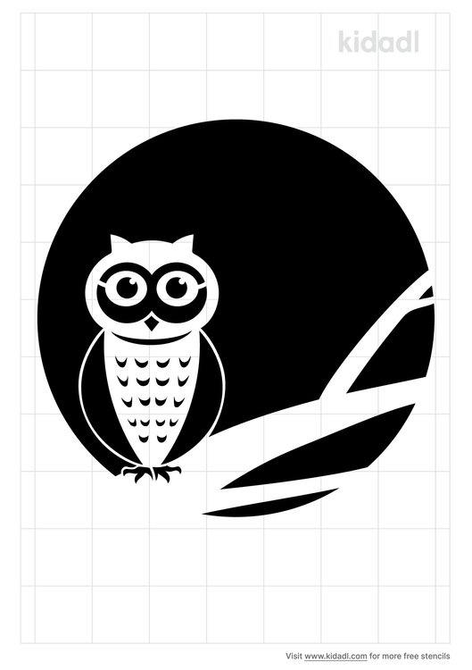 full-moon-owl-stencil