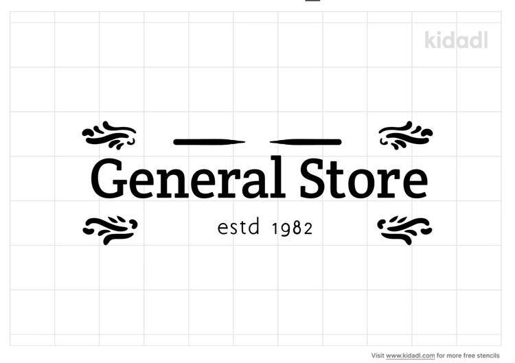 general-store-stencil