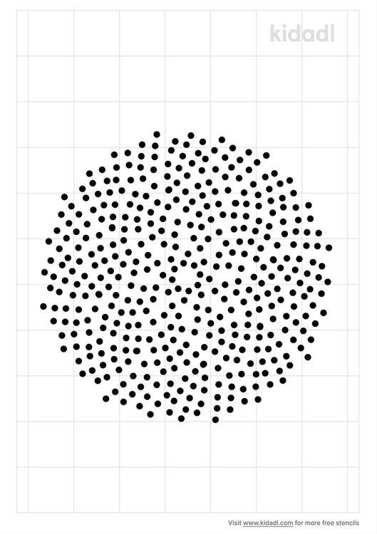 geometric-sunflower-seeds-stencil