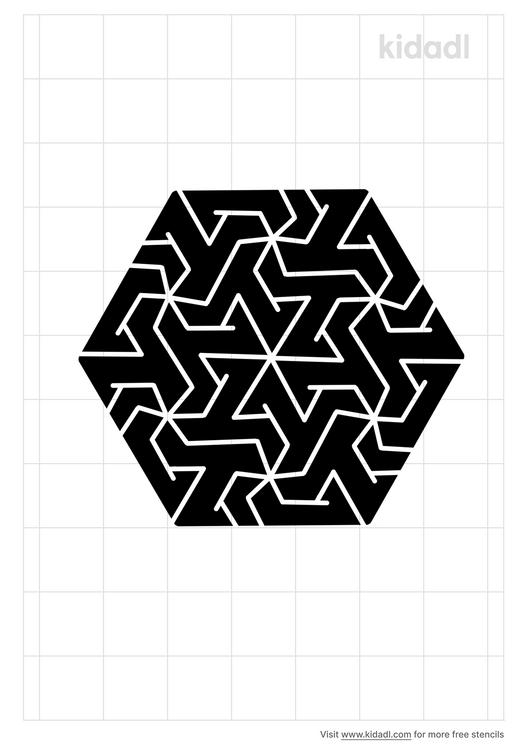 geometric-tessellations-stencil