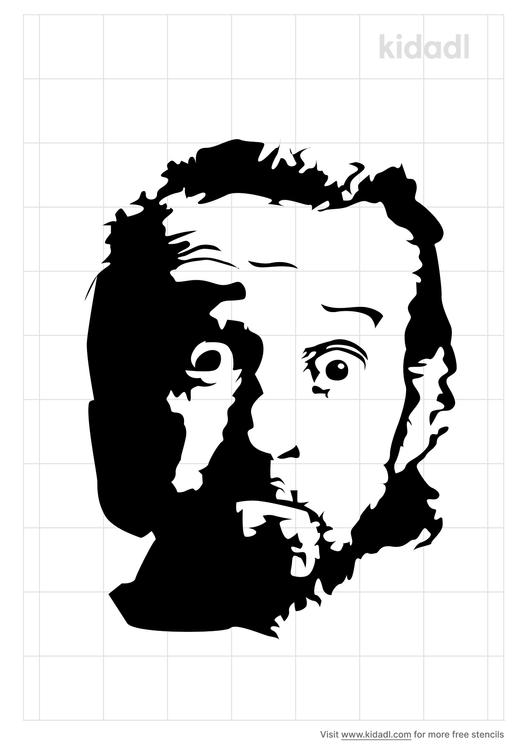 george-carlin-stencil