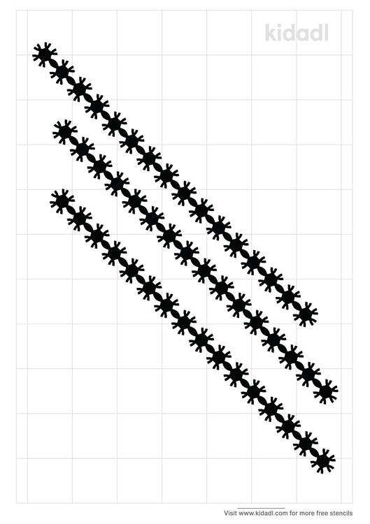 gothic-border-stencil