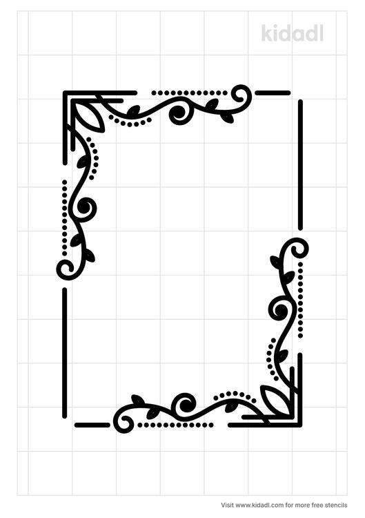 gothic-filigree-simple-stencil