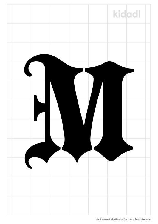 gothic-m-letter-stencil.png