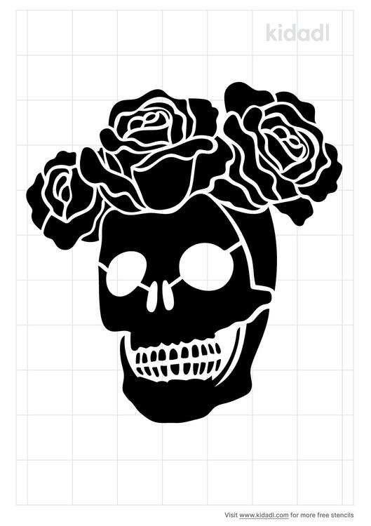 grateful-dead-rose-stencil