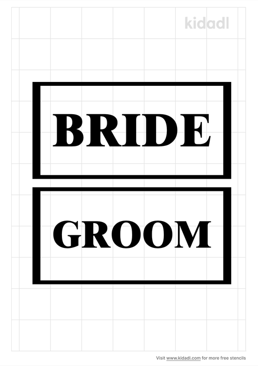 groom-word-template-stencil