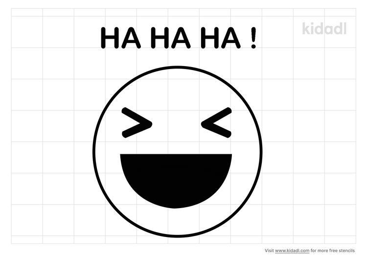 ha-ha-ha-stencil