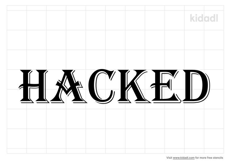 hacked-stencil