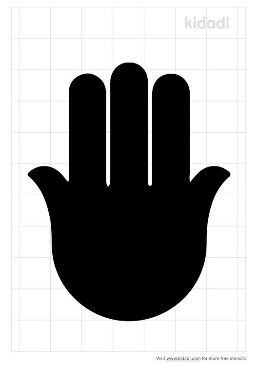 hand-of-hamsa-stencil