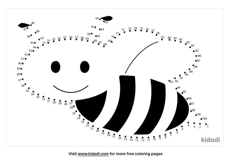 hard-beehive-dot-to-dot