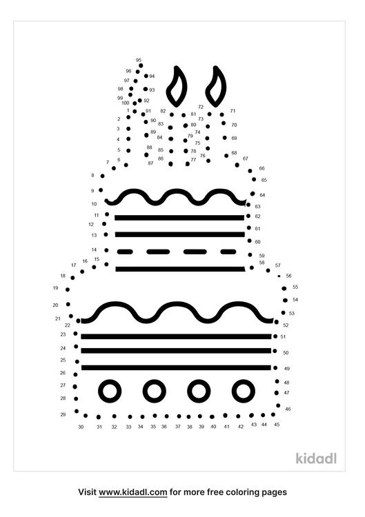 hard-birthday-cake-dot-to-dot