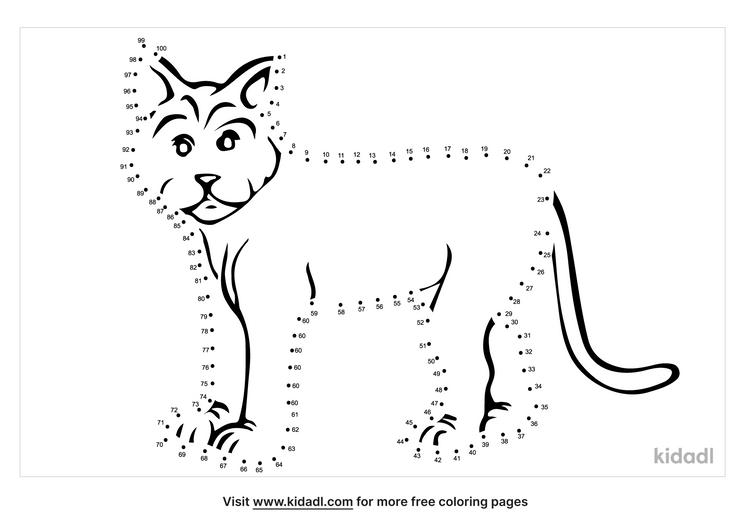 hard-bobcat-dot-to-dot