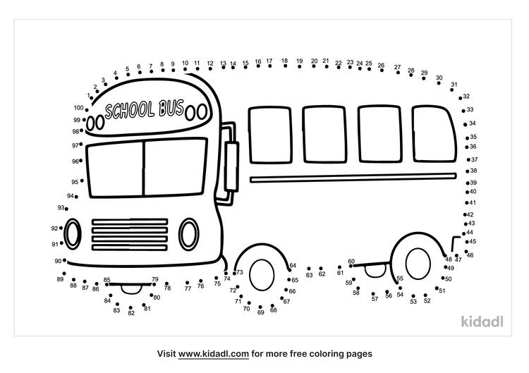 hard-bus-dot-to-dot