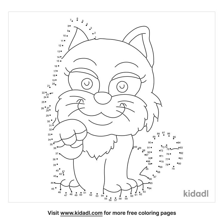 hard-cat-dot-to-dot