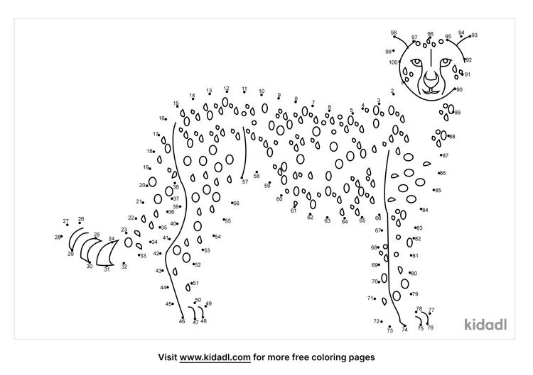 hard-cheetah-dot-to-dot