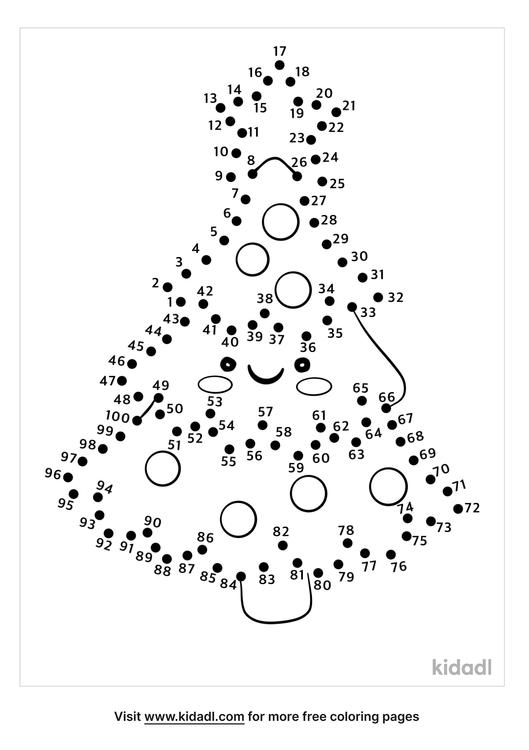 hard-christmas-tree-dot-to-dot