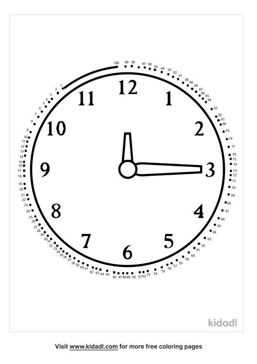 hard-clock-dot-to-dot