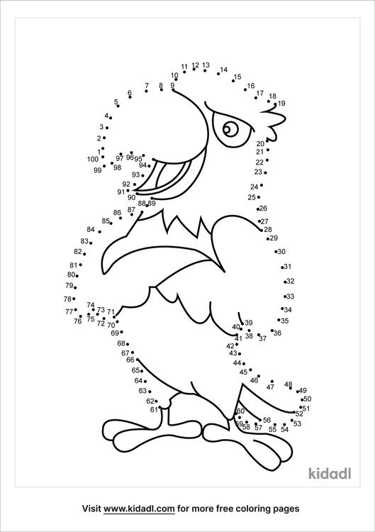 hard-cute-cartoon-eagle-dot-to-dot