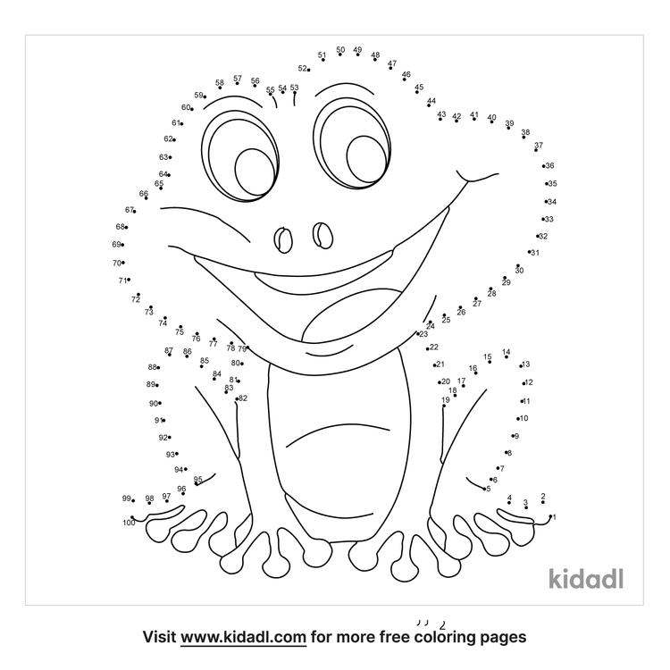 hard-frog-dot-to-dot