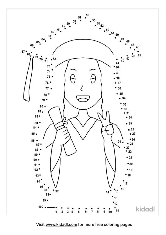 hard-graduation-dot-to-dot