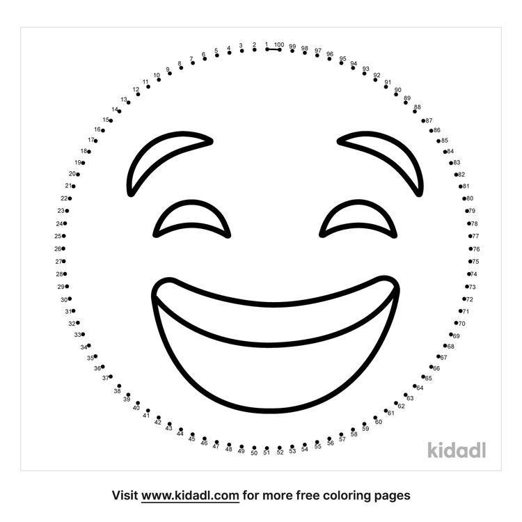 hard-happy-face-dot-to-dot