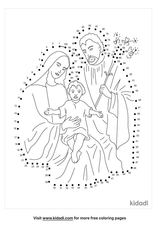hard-holy-family-dot-to-dot